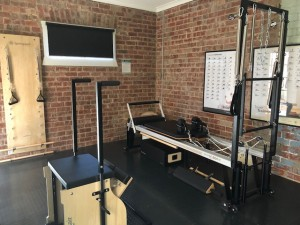 Beautiful Stotts Pilates Equipment in the Pilates Pod
